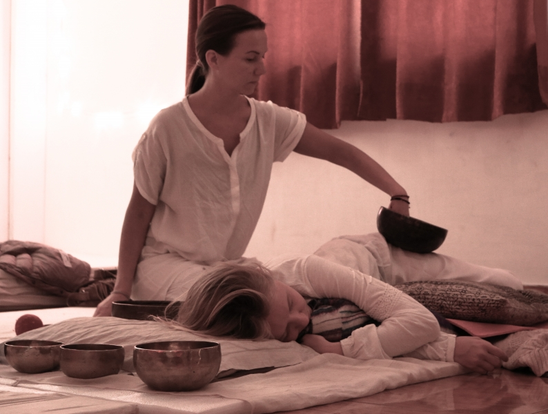 Sound Healing Students Teaching India 5