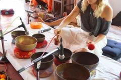 Tibetan Singing Bowls Training Goa
