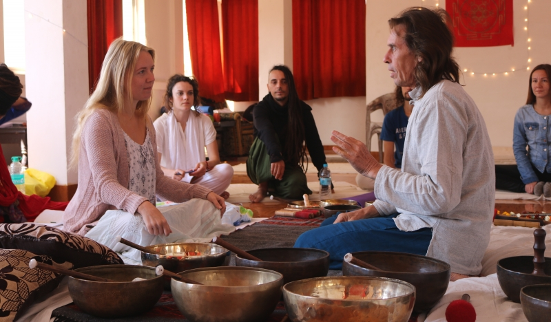 one to one tibetan sound healing session