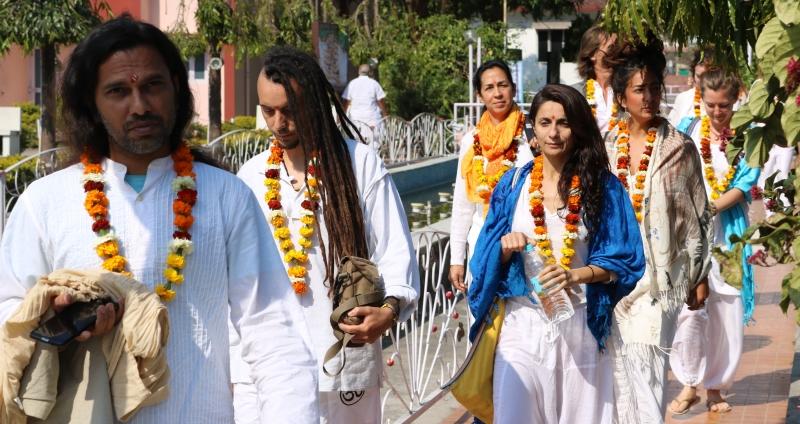 opening ceromony sound healing training with shiva girish
