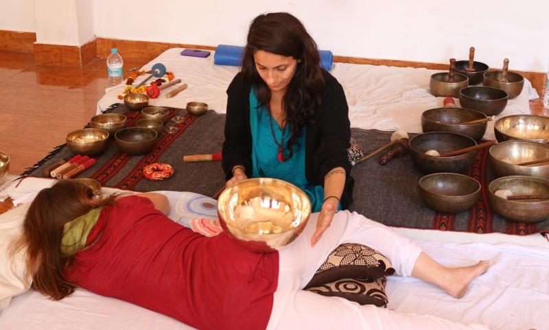 sacral chakra healing session