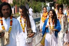 opening ceromony sound healing training with shiva girish