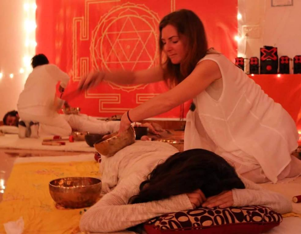 Singing Bowl Training With Shiva Girish Master Sound Healer