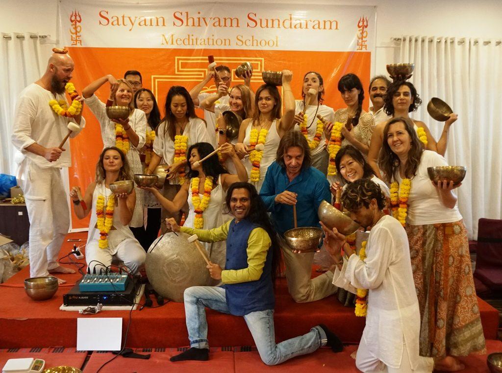 Samaveda International Academy Of Sound Healers offers 4 days CertTibetan Singing Bowls Sound Healing Training