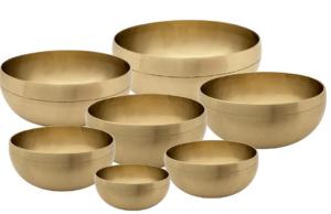Full Moon Tibetan Singing bowls Chakra Bowl Set