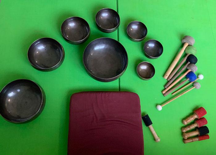 Buy Full-moon Seven Chakra Sound Healing Singing Bowl Sets Guatemala