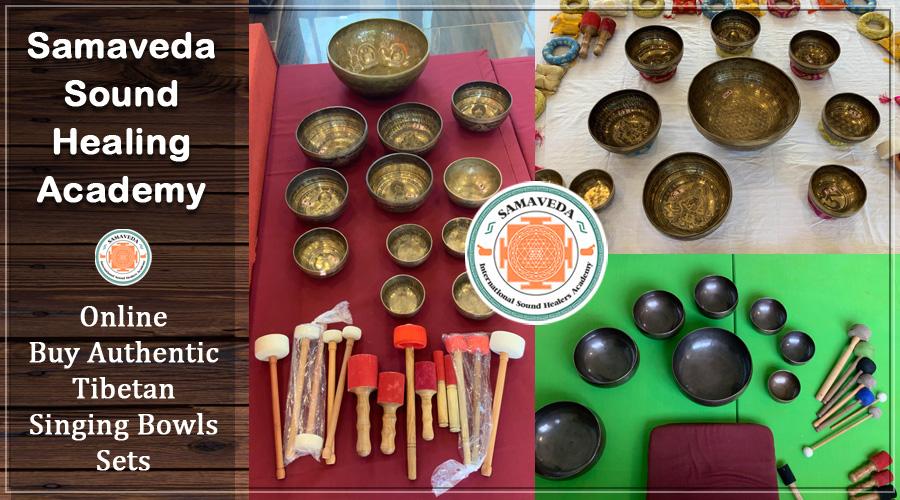 Buy Handmade Tibetan Sound Healing Singing Bowl Sets Singapore