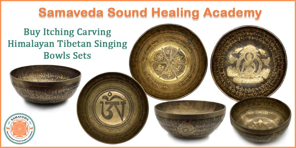 Buy Itching Carving Himalayan Tibetan Singing Bowls Sets Liechtenstein